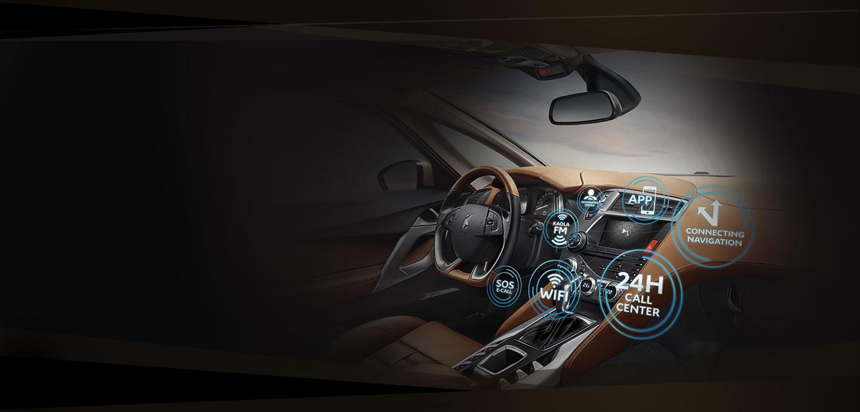 智能导航7寸彩色触控屏, 实时重要信息一览无遗,触动新世代互联驾行